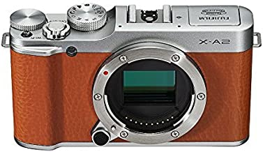 Fujifilm X-A2 Mirrorless Digital Camera (Brown Body Only) - International Version (No Warranty)