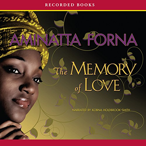 The Memory of Love audiobook cover art
