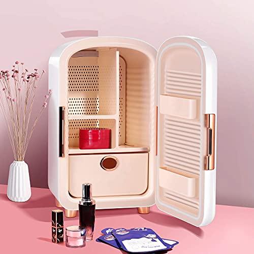 QMYYHZX Mini Refrigerador De Belleza para El Cuidado De La Piel De 12L, Mini Refrigerador Portátil, Refrigerador Portátil para Cosméticos, Es Una Buena Opción para El Cuidado De La Piel Y Cosméticos.