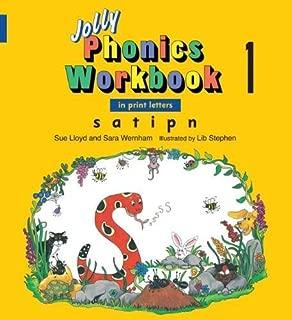 Jolly Phonics Workbook 1: In Print Letters: S, A, T, I, P, N by Sue Lloyd Sara Wernham(2008-01-31)
