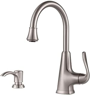 Pfister Pasadena Single-Handle Bar Faucet in Stainless Steel