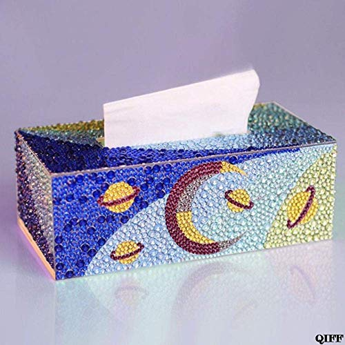 Tissue doos Special Shape Diamond Painting DIY Roll Tissue Box Jewelry Storage Cross Stitch-like pic LOLDF1