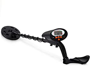 Pyle Pro Pinpointer Metal Detector | Handheld Metal Detector W/ High Sensitivity | Built-in Speaker | Comfortable Arm Support | 5 Detection Modes | Find Gold, Silver, Iron, Coins & Jewelry (PHMD74)