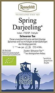 Ronnefeldt - Spring Darjeeling - Bio - Schwarzer Tee aus Darjeeling - 100g