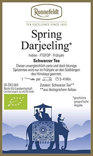 Ronnefeldt - Spring Darjeeling** - Bio - Schwarzer Tee aus Darjeeling - 100g