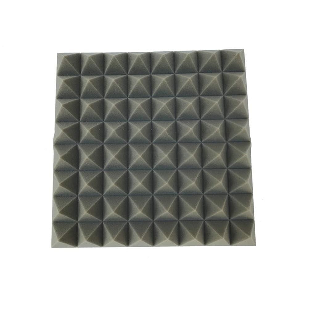 縮約面倒スキム10ピースホテル音響パネル、バーグレーピアノルームレコーディングスタジオソフト多機能吸音コットン50 * 50 * 8センチ (色 : 10 PCS)