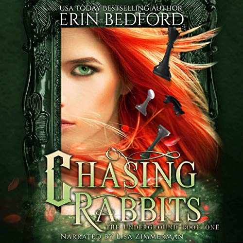 Chasing Rabbits                   By:                                                                                                                                 Erin Bedford                               Narrated by:                                                                                                                                 Lisa Zimmerman                      Length: 7 hrs and 57 mins     31 ratings     Overall 4.3