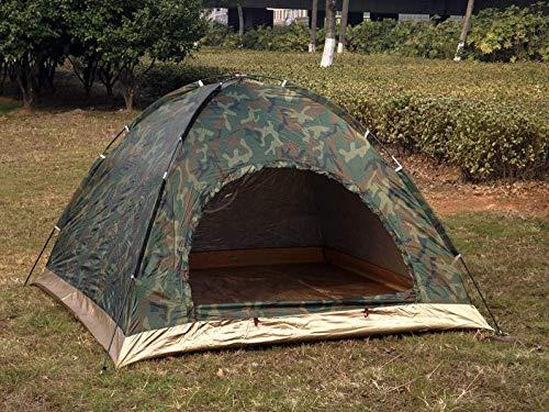 Zelte für Camping Wasserdicht Tragbares Familiencampingzelt 100% Wasserdicht mit Geeignetem Garten Angeln Strand Outdoor Hikingcamping Zelt Tarnlicht