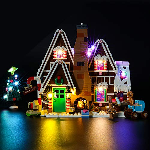 BRIKSMAX Led Lighting Kit for Creator Gingerbread House - Compatible with Lego 10267 Building Blocks Model- Not Include The Lego Set