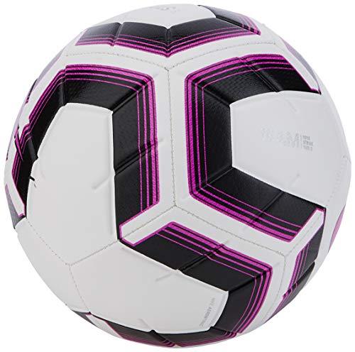 Nike NK Strk Team IMS, Pallone da Calcio Unisex Adulto, White/Black/Fuchsia Blast/Fuch, 5