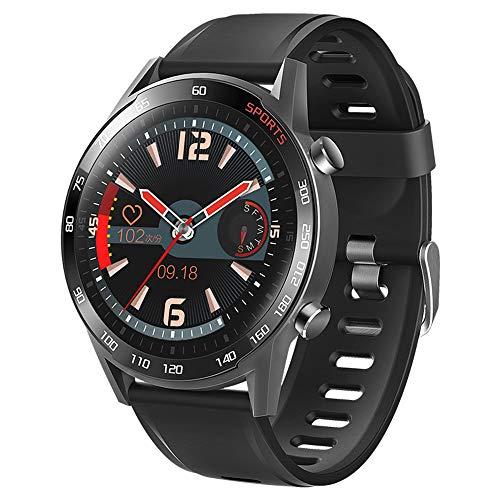 Cytech Smartwatch, Impermeable IP67 Reloj Inteligente con Pulsómetro,Podómetro,Cronómetros,Calorías,Termómetro,Oxímetro,Monitor de Sueño,para Android iOS