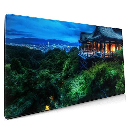 Multi Monitor Dual Screen Widescreen Mouse Pad Niet Slip Rubber Groot Gaming Keyboard Mat 15.8x35.5 In