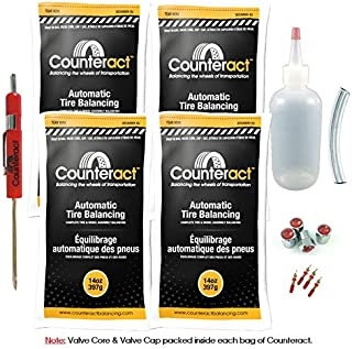 DIYK-14 Counteract Tire Balancing Beads - Truck, Bus, Off-Road - 14oz DIY Kit (56oz)
