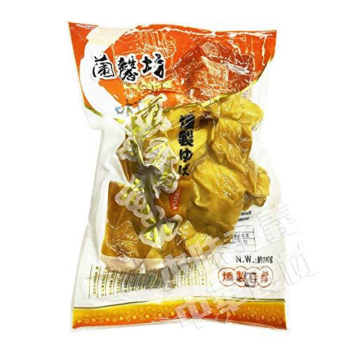 中国東北地方名物燻制腐竹扣(燻製ゆば)240g中華食材・中華料理人気商品・中国名物