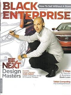 BLACK ENTERPRISE MAGAZINE (January 2012 - Vol. 42/ No. 6) Featuring: ANDRE HUDSON