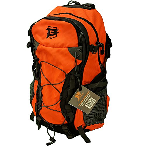 ✔️ EASILY GET TO YOUR GEAR: The BattlTac high visibility orange hiking backpack features multiple zippered compartments and pouches allow quick and easy access to all your gear ✔️ PERFECT FOR DAY HIKES: The main compartment has a water bladder pouch ...