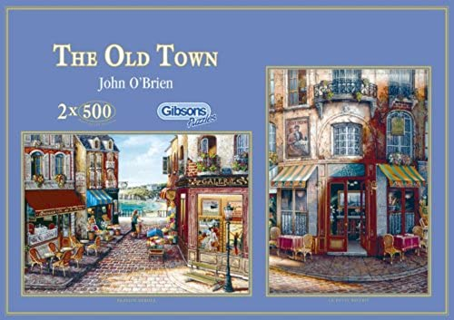 Gibson Jigsaw Puzzle - The Old Town - 2 x 500 puzzle pieces