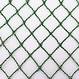 Aquagart® Teichnetz, 10m x 6m, dunkelgrün, engmaschig: Maschenweite 15mm x 15mm, Laubnetz, Teichabdecknetz, Vogelabwehrnetz, Reihernetz robust