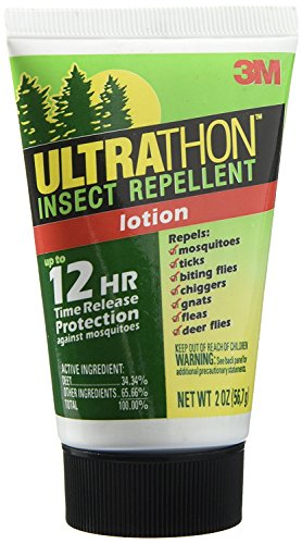 Ultrathon Insect Repellent Lotion with up to 12 Hours of Time Release Protection (Pack of 3)