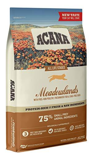Acana Dry Cat Food, Meadowlands, Chicken, Turkey,...