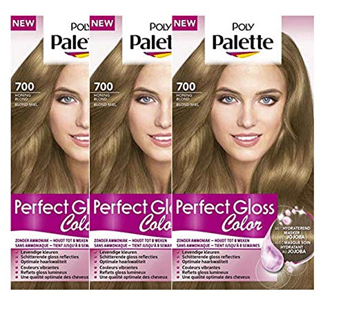 Poly Palette Perfect Gloss Color 700 Honigblond - 3er Pack
