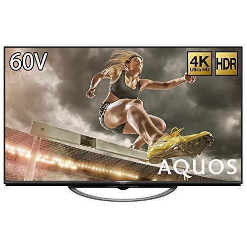 『シャープ 60V型 液晶 テレビ AQUOS 4T-C60AM1 4K HDR対応 低反射「N-Blackパネル」搭載 2018年モデル』の1枚目の画像