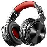 OneOdio Cuffie con Microfono Cuffie Bluetooth Over Ear Cuffie con Filo per PC Stereo Surround con Controllo Volume, 50 mm Driver, 3.5mm Jack, per Zoom, Skype Call, Ufficio a casa, Conferenza