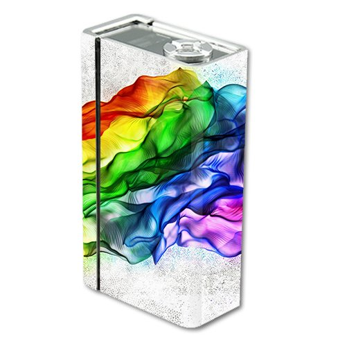 Skin Decal Vinyl Wrap for Smok Xcube 2 BT50 Vape Mod Box / Fresh Colors