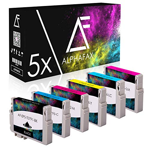 30 Tintenpatronen kompatibel für Epson Stylus Photo 1400 1500W P50 PX-650 660 700 710 W 720 730 WD 800 810 FW 820 830 FWD - C13 T0791 T0792 T0793 T0794 T0795 T0796 4010 je 15ml