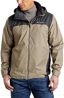 Columbia Men's Glennaker Lake Front-Zip Rain Jacket with...