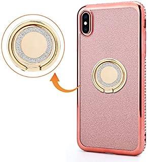 iPhone XS Max シェル, Happon 衝撃-耐性 男性用 ケース 皮膚 バックケース 緩衝器 ?と 男性用 保護 シェル カバー の iPhone XS Max -Orange