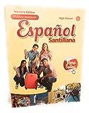 Espanol Santillana Practice Workbook High School 1 Teacher's Edition