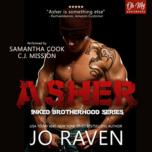Asher audiobook cover art
