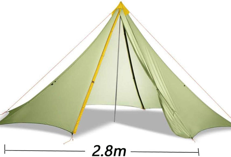 Ashuang Ultralight Camping Zelt 3 Jahreszeiten   4 Jahreszeiten 20D Rodless Zelt