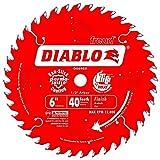 Diablo D0640X-5 6' x 40 Tooth Boss Trim Saw Blade 5x