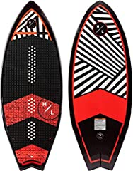 HYPERLITE BROADCAST 4.8 - SHAUN MURRAY CERTIFIED - PERFECT FOR THE FAMILY AND ANY WAVE LAYERED GLASS: Our fiberglass is available in 3 weights depending on the board. Over time, traditional woven glass fibers will separate. With layered glass every H...