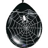 Folat 8 Halloween Spinnen Ballons
