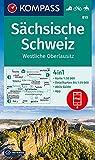 KV WK 810 Sächsische Schweiz: 4in1 Wanderkarte 1:50000 mit Aktiv Guide und Detailkarten inklusive Karte zur offline Verwendung in der KOMPASS-App. ... Reiten. (KOMPASS-Wanderkarten, Band 810)