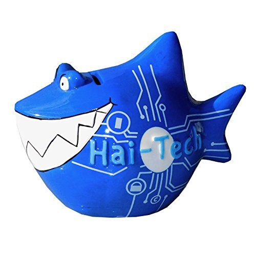 KCG Spardose Hai HaiTech Keramik klein