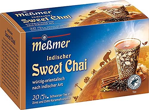 Meßmer Ländertee   Indischer Chai Tee   20 Teebeutel   Glutenfrei   Laktosefrei   Vegan