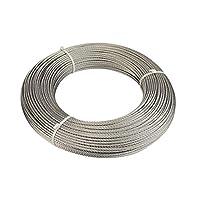 Muzata Stainless Steel Wire Rope 5/32