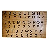 Braille Alphabet Board - Great for Teaching...