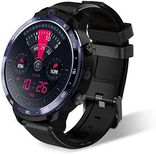 CBCJU Reloj Inteligente 4G 1.6 Pulgadas Reconocimiento Cara 1800Mah Batería Reloj Inteligente Hombres Mujeres Negro