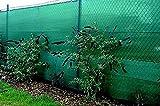 Riegolux 411766 malla ocultación, verde, 1. 5 x 50m, 70 gr/m2 - alto