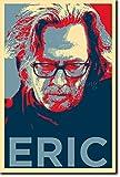 Eric Clapton Kunstdruck (Obama Hope Parodie) Hochglanz Foto