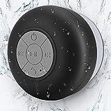 Mini Bluetooth Shower Speaker Waterproof Handsfree Speakerphone Music in Bathroom Wireless Portable Speakers Built-in...