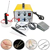 CGOLDENWALL DX-30A Pulse Sparkle Spot Welding Machine 200W Welder Jewelry Welder for Necklace Gold Silver Platinum