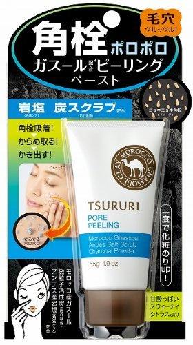 Tsururi Black Head Pore Peeling Ghassoul
