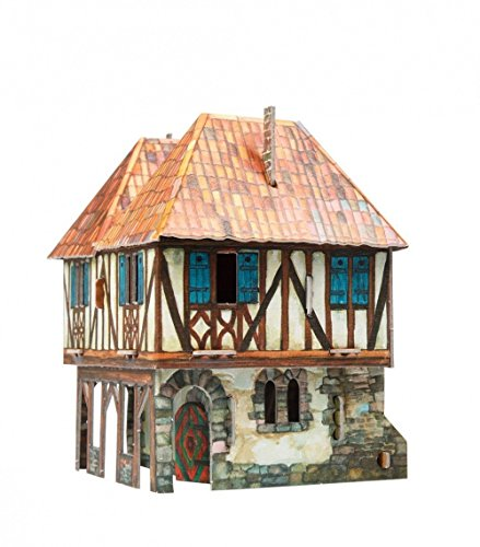 CLEVER PAPER- Puzzles 3D Casa señorial (14282)