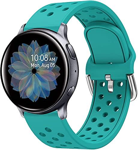 Shieranlee Compatible para Galaxy Watch 46mm Correa,22mm Pulsera Deportiva para Gear S3 Frontier/Galaxy Watch 3 45mm/YAMAY SW022,Imilab kw66, haylou RT LS05S,One Plus,Popglory Smartwatch Correa